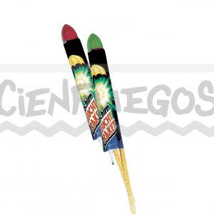 súper PARACAIDAS – Cana de 70 cm. paracaídas luminoso de colores surtidos
