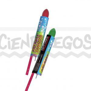 COLORES SURTIDOS – Cana de 60 cm. con bomba de colores surtidos