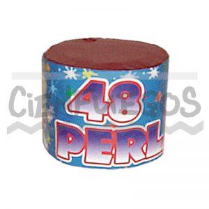 48 PERLAS – Torta de 48 tiros perlas de colores surtidos