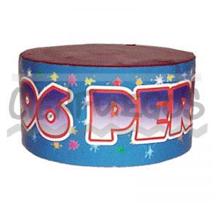96 PERLAS – Torta de 96 tiros perlas de colores surtidos