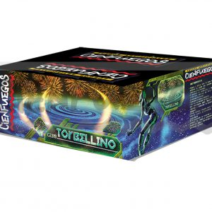 TORBELLINO – Torta de 139 tiros de 3/4″ efectos y colores surtidos
