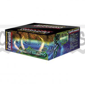 TORBELLINO 35 TIROS – Torta 35 tiros 3/4″ bombas colores y efectos surtidos
