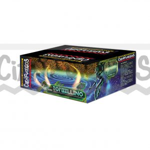 TORBELLINO 70 TIROS ; Torta 70 tiros 3/4″ efectos y colores surtidos