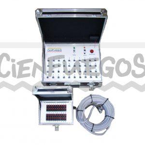 Consola 40 canales con Multipar