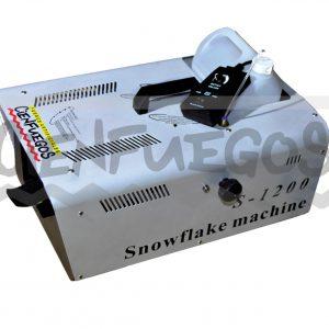 Maquina de nieve 1200 W