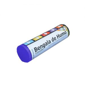 BENGALA DE HUMO AZUL