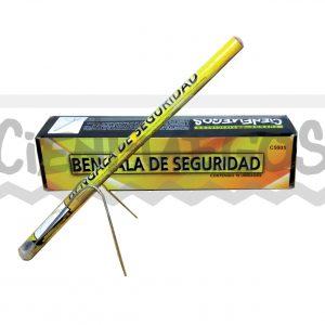 BENGALA DE SEGURIDAD –  40 cm  duración  20 minutos