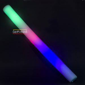 VARA GOMA ESPUMA C/LED – Varios colores