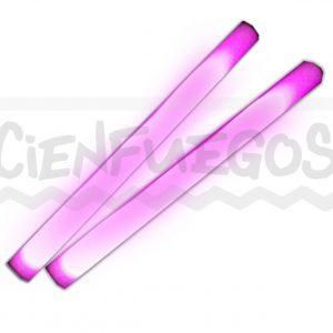 VARA GOMA ESPUMA C/LED – Rosa