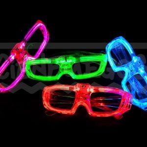 ANTEOJOS R?GIDOS CON LED – Colores varios