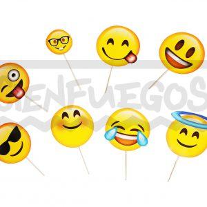 FOTO BOOTH SMILE  – Carteles con emoticones varios