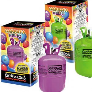 GARRAFA HELIO – 7,10 litros P/ 30  globos de 9″