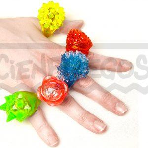 ANILLO SILICONA CON LED – Anillo Silicona con formas y colores surtidos