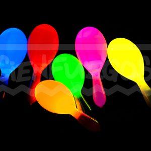 MARACA CON LED  – Maracas de Plástico C/Led  encendido X movimiento