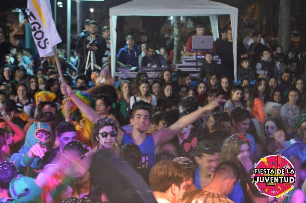 Solidaridad y alegría en la Fiesta de la Juventud 2016 en Nogoyá