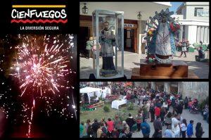 Un cierre a puro color en la gran Fiesta de San Cayetano