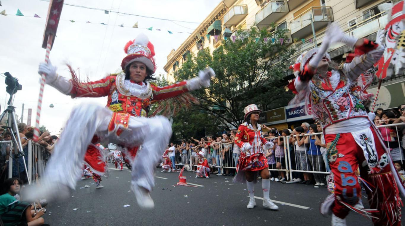 Carnaval 2017 en la ciudad de Buenos Aires