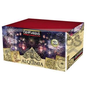 ALQUIMIA – Torta de 2″ con apertura de color y efectos surtidos.