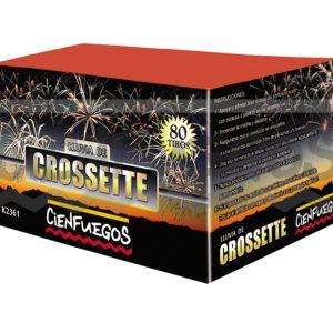 LLUVIA DE CROSSETTE – Torta de 0,8″ efecto cometa de colores surtidos