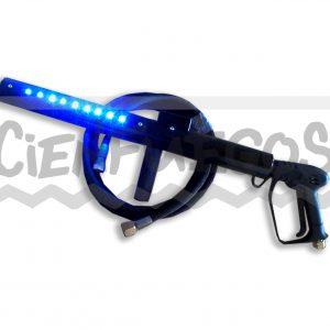 Pistola de C02 JET CON LED (Manguera Incluida de 4 mtrs)