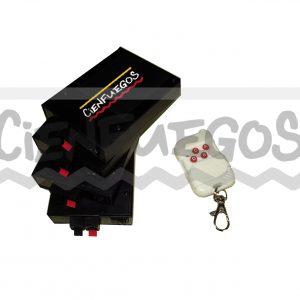 Consola inalambrica con 4 receptores Individuales