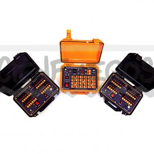 Consola inal?mbrica 24 l?neas ( 2 Receptores y 1 Emisor ) con secuenciador de 12 l?neas incluido