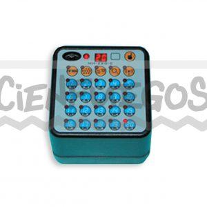 Emisor para consola inalámbrica programable con secuenciador 100 líneas