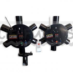 máquina inalámbrica giratorio p/gerb
