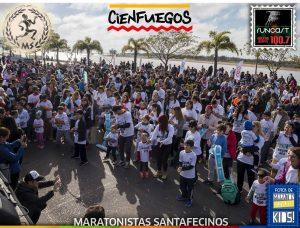 Cienfuegos junto a la Maratn Santa Fe Kids 2018