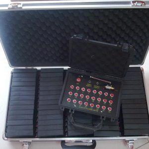 Consola inalámbrica 24 líneas con 72 receptores inalámbricos individuales