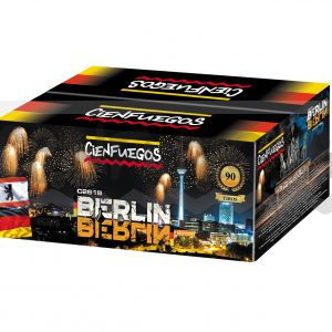 BERLIN – Torta de 90 tiros efecto cometa con cola de caballo dorada