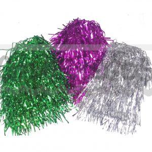 PELUCA CARRE  METALIZADA – Peluca de papel metalizado varios colores