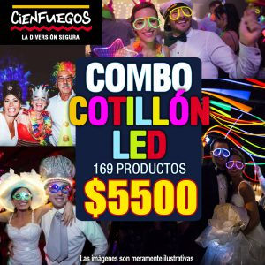 COMBO COTILLÓN LED