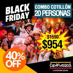 COMBO COTILLÓN 20 PERSONAS