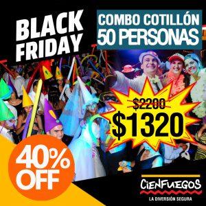 COMBO COTILLÓN 50 PERSONAS