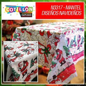 Mantel diseños navideños