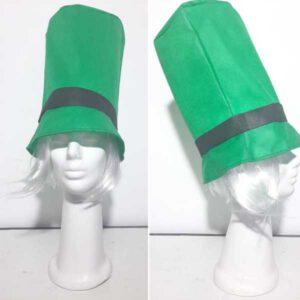 Galera y corbata de Friselina Verde